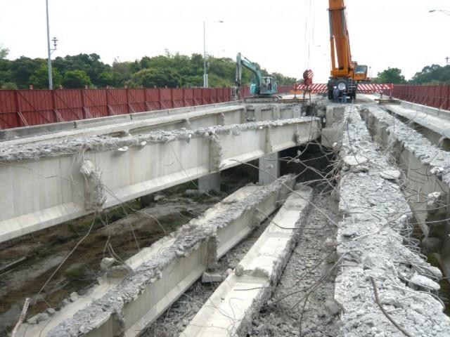 橋樑拆除案