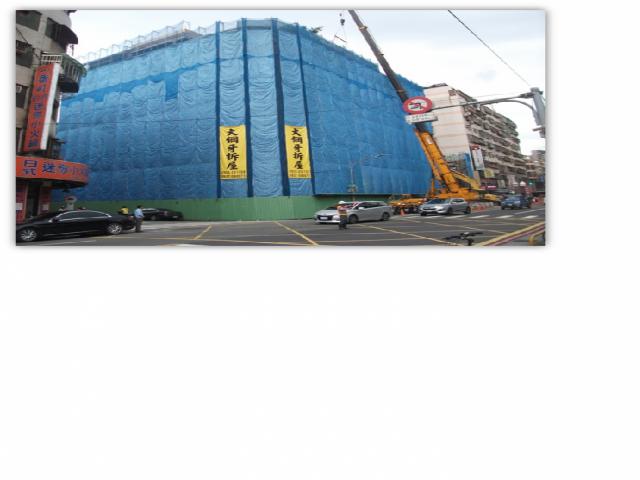 新北市第一件海砂危樓拆除