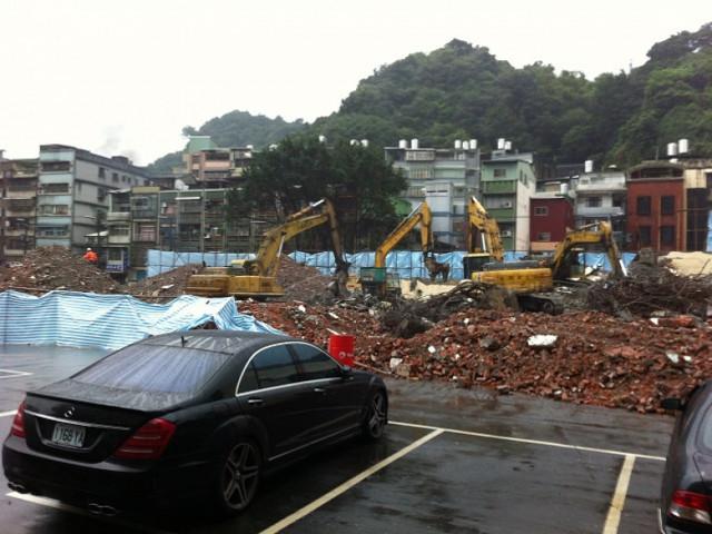 基隆救國團活動中心建物拆除