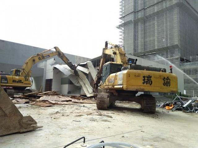 新北市林口樣品屋拆除