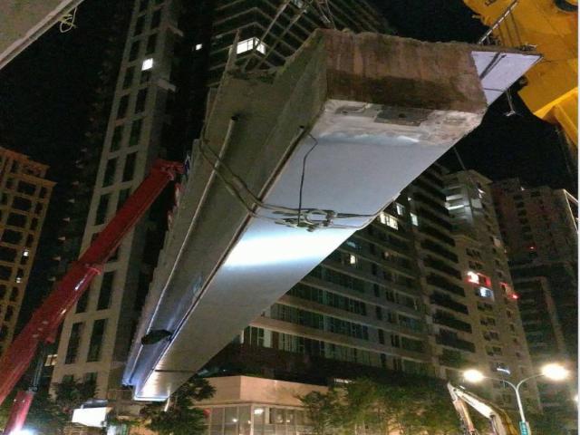 新店中正路橋拆除