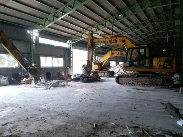 黑松汽水廠拆除