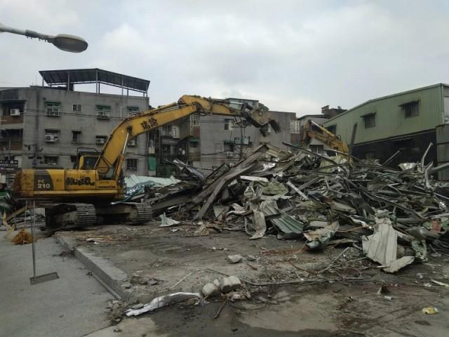 廠房設備拆除