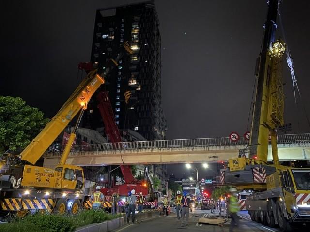 汐止秀峰陸橋拆除